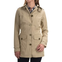 Barbour Creran Water-Resistant Jacket (For Women) in Dark Stone - Closeouts