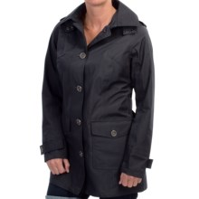 Barbour Creran Water-Resistant Jacket (For Women) in Navy - Closeouts