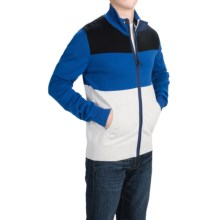Barbour Cruiser Cardigan Sweater - Full Zip (For Men) in Bright Blue - Closeouts