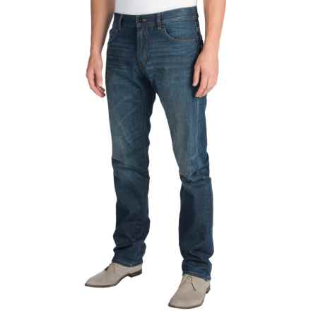 Barbour Cyclone Regular Fit Jeans (For Men) in Aged Wash - Closeouts