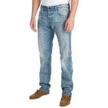 Barbour Cyclone Regular Fit Jeans (For Men) in Bleach/Stone Wash - Closeouts