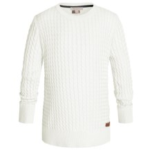 Barbour Daisy Cotton Sweater - Crew Neck (For Girls) in Snow - Closeouts
