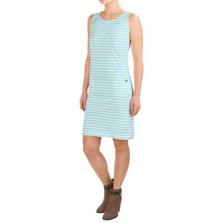 Barbour Dalmore Dress - Sleeveless (For Women) in Aqua - Closeouts