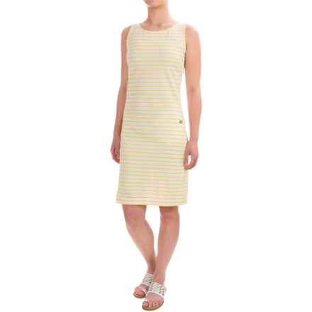 Barbour Dalmore Dress - Sleeveless (For Women) in Yellow - Closeouts