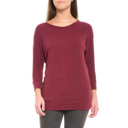 Barbour Danna Shirt - 3/4 Sleeve (For Women) in Red - Closeouts