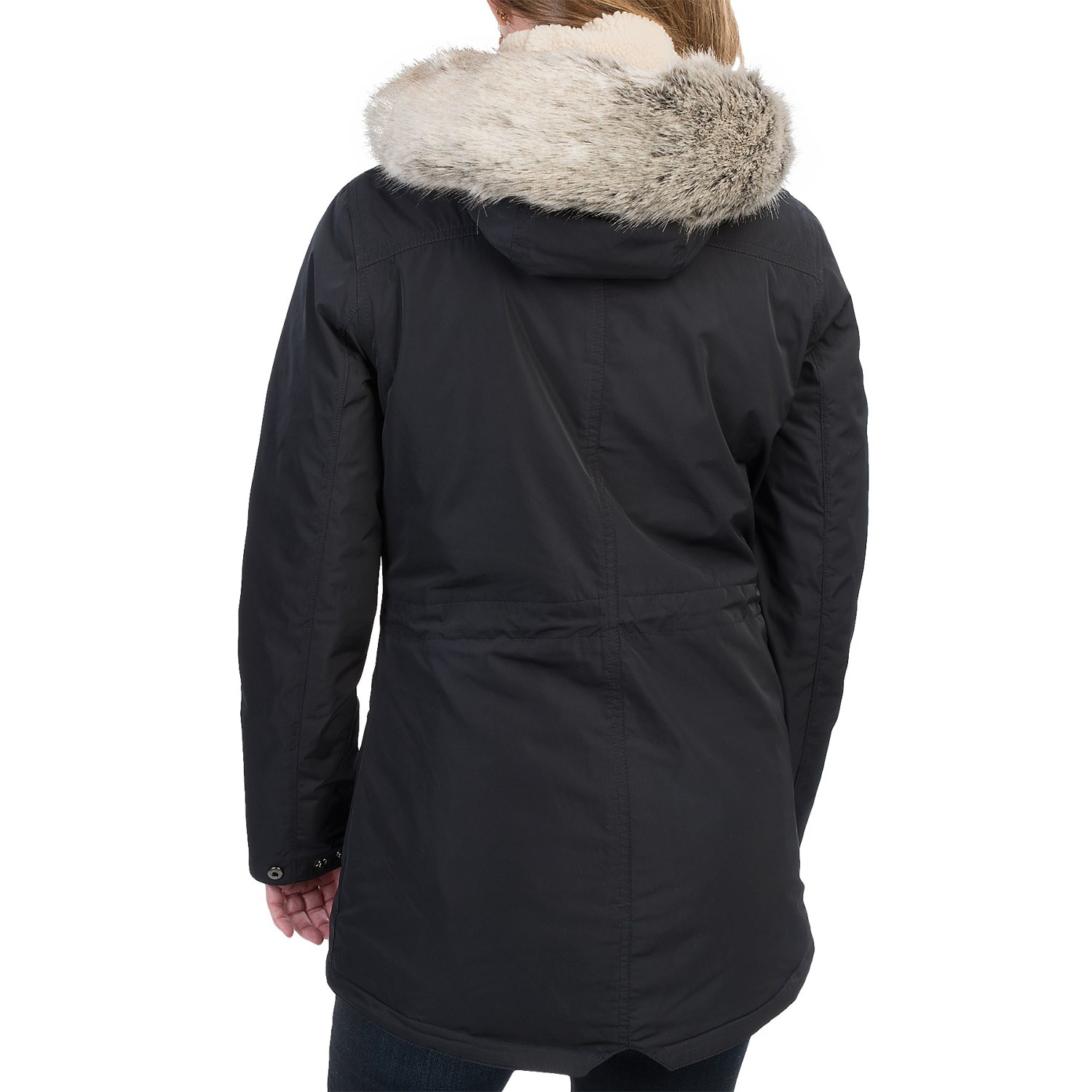 8686H_2 Barbour Deck Water-Resistant Coat - Insulated (For Women