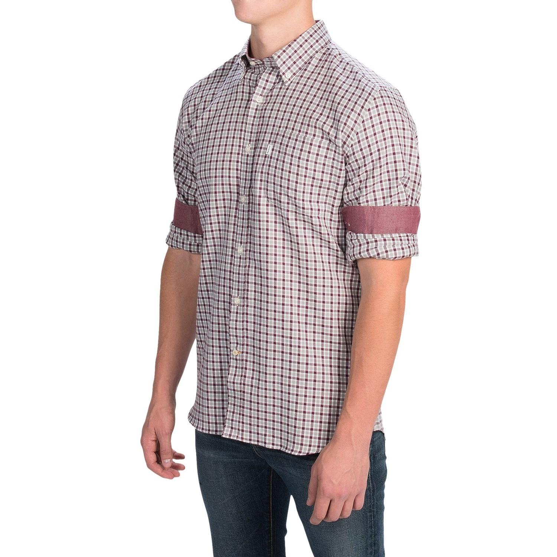 Barbour Decoy Cotton Check Shirt For Men Save 63