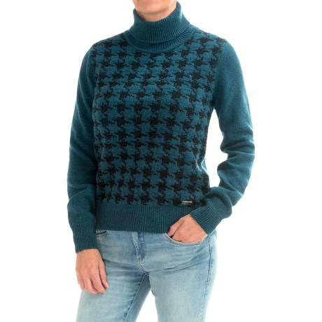 Image of Barbour Diamond Roll Neck Sweater (For Women)
