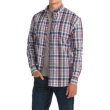 Barbour Douglas Cotton Shirt - Long Sleeve (For Men) in Rustic Check - Closeouts