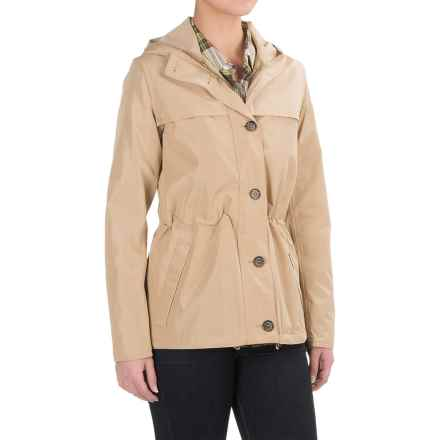 Barbour Durham Jacket - Waterproof, Relaxed Fit (For Women) in Dark Stone - Closeouts