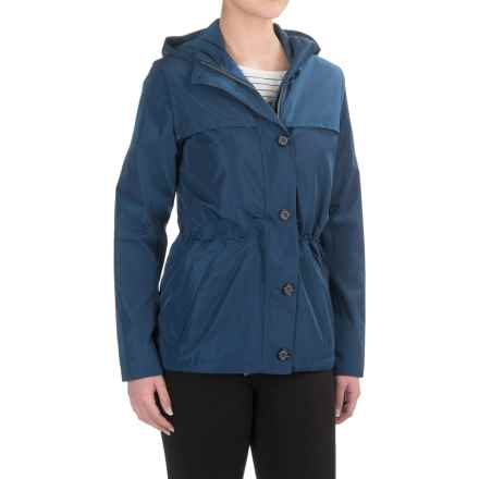 Barbour Durham Jacket - Waterproof, Relaxed Fit (For Women) in Indigo - Closeouts