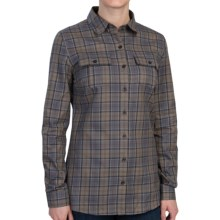 Barbour Edrington Shirt - Long Sleeve (For Women) in Winter Drees Plaid - Closeouts