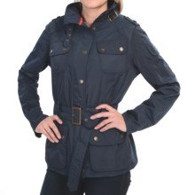 Barbour Electra Fazer Water-Resistant Jacket (For Women) in Navy - Closeouts