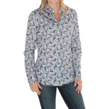 Barbour Encore Cotton Shirt - Long Sleeve (For Women) in Kissing Garden - Closeouts