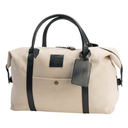 Barbour Eslay Explorer Canvas Bag in Stone - Closeouts