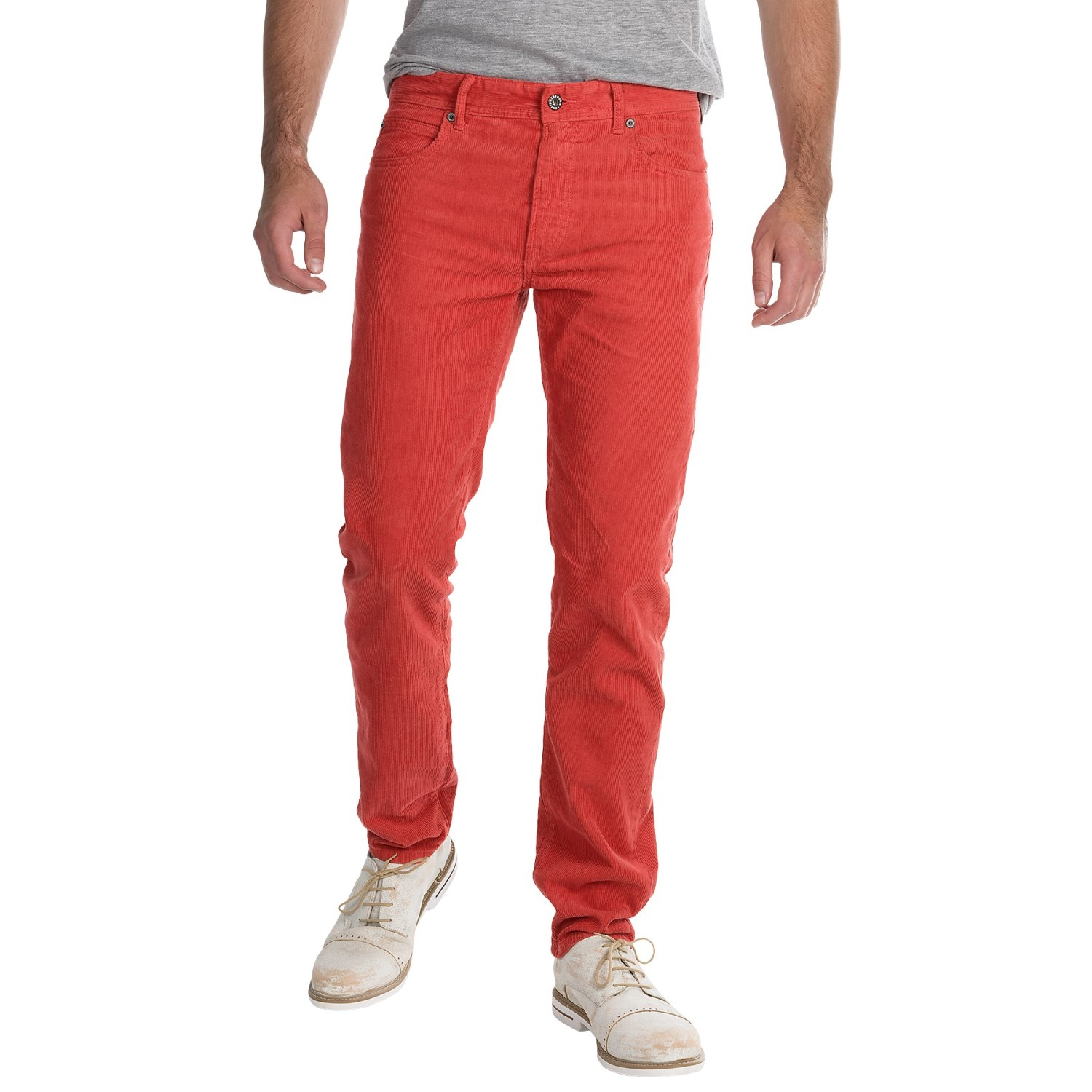 Barbour Essential Skinny Corduroy Pants (For Men) - Save 82%