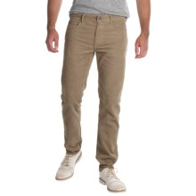 Barbour Essential Skinny Corduroy Pants (For Men) in Stone - Closeouts
