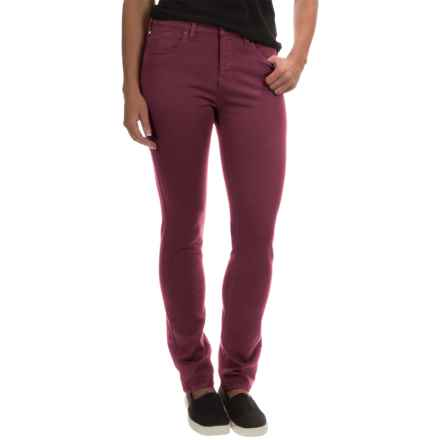 Barbour Essential Slim Pants (For Women) in Bordeau - Closeouts
