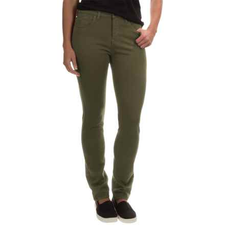 Barbour Essential Slim Pants (For Women) in Olive - Closeouts