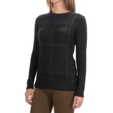 Barbour Etal Crew Sweater (For Women) in Carbon Marl - Closeouts