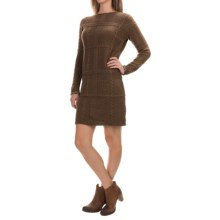 Barbour Etal Sweater Dress - Wool, Long Sleeve (For Women) in Coffee - Closeouts