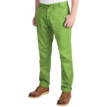 Barbour Euston Garment-Dyed Trousers (For Men) in Sage - Closeouts