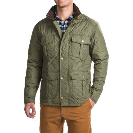Barbour Explorer Jacket (For Men) in Mid Olive - Closeouts