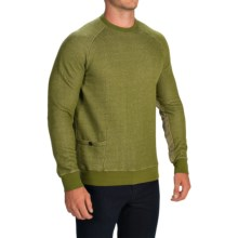 Barbour Farren Crew Neck Sweatshirt (For Men) in Vintage Green - Closeouts