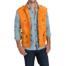 Barbour Fishing Vest (For Men) in Orange - Closeouts