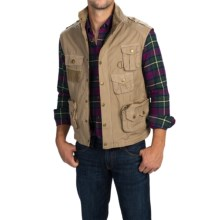 Barbour Fishing Vest (For Men) in Sandstone - Closeouts
