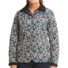 Barbour Floral Winter Liddesdale Quilted Jacket (For Women) in Winter Floral Navy - Closeouts