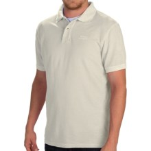 Barbour Flow Laundered Polo Shirt - Short Sleeve (For Men) in Neutral - Closeouts