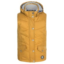 Barbour Forland Diamond-Quilted Vest (For Girls) in Yellow - Closeouts