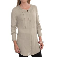 Barbour Fusilier Slim Fit Shirt - Long Sleeve (For Women) in Pearl - Closeouts