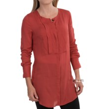 Barbour Fusilier Slim Fit Shirt - Long Sleeve (For Women) in Red Clay - Closeouts