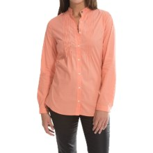Barbour Gare Shirt - Long Sleeve (For Women) in Camelia - Closeouts