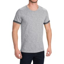 Barbour Gradient Printed T-Shirt - Short Sleeve (For Men) in Grey - Closeouts