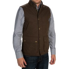 Barbour Greenshore Quilted Vest - Fleece Lined (For Men) in Dark Olive - Closeouts