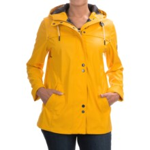 Barbour Hackamore Hooded Parka (For Women) in Yellow - Closeouts