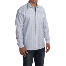 Barbour Haltswhistle Cotton Shirt - Regular Fit, Long Sleeve (For Men) in Navy - Closeouts