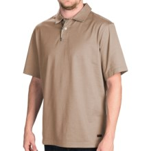 Barbour Harton Polo Shirt - Short Sleeve (For Men) in Neutral - Closeouts