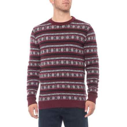 85d3931eaf706 Barbour Harvard Fair Isle Sweater - Merino Wool Blend, Crew Neck (For Men)