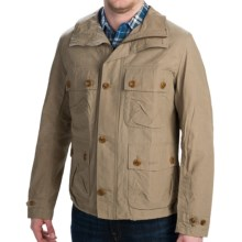 Barbour Harwell Flap Pocket Jacket (For Men) in Dark Stone - Closeouts