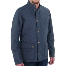 Barbour Hatton Diamond Quilted Jacket - Insulated (For Men) in Navy - Closeouts