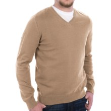 Barbour Healey Sweater - V-Neck (For Men) in Dark Stone - Closeouts