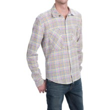 Barbour Heartwood Country Check Shirt - Long Sleeve (For Men) in Ecru - Closeouts