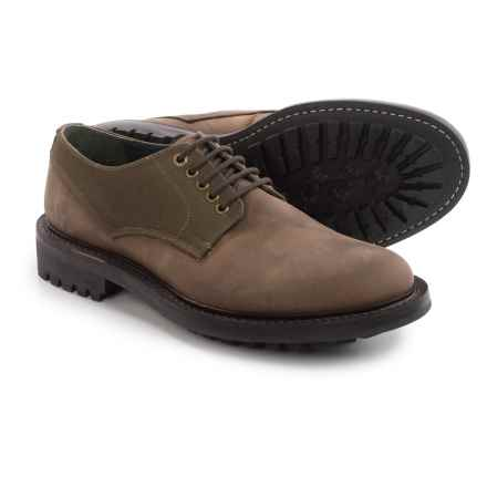 Barbour Helmsley Derby Shoes - Leather (For Men) in Dark Brown, Helmsley - Closeouts