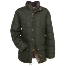 Barbour Hemmingford Jacket - Waxed Cotton, Insulated (For Men) in Olive - Closeouts