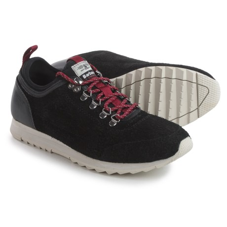 Barbour Highlands Low Sneakers (For Men) in Black