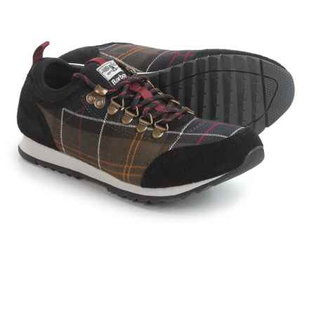 Barbour Highlands Low Sneakers (For Women) in Tartan - Closeouts